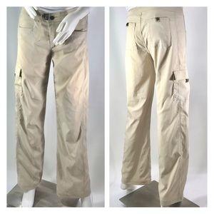 Prana Khaki Hiking Oitdoor Utility Pants  S New